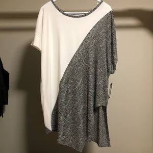 NWT Worthington asymmetric top